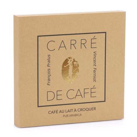 Chocolats François Pralus - Carré de café® lait