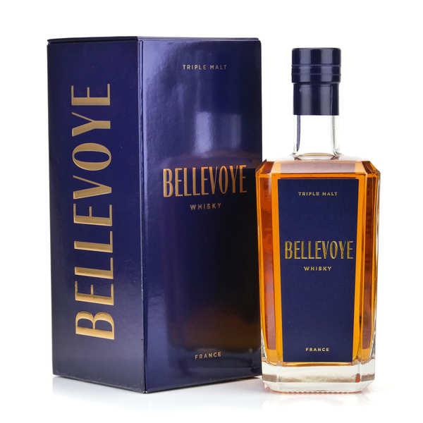 Whisky français Bellevoye bleu 40%