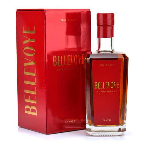 Bellevoye - Whisky français Bellevoye rouge 43%