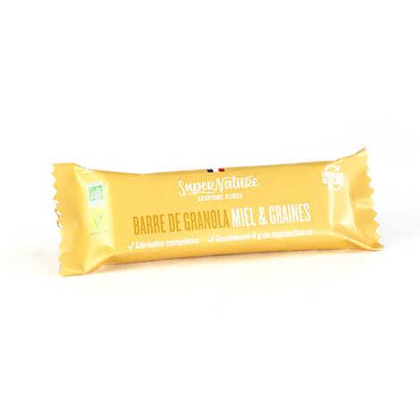 Granola Catherine Kluger - Barre de granola au miel et aux graines bio