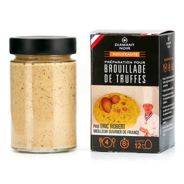 Preparation for Scrambled Eggs with Truffles