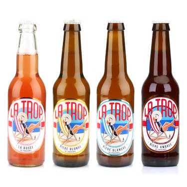 Assortiment découverte des bières La Trop
