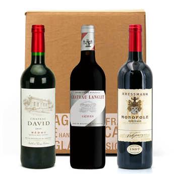 - 3 Bordeaux Wines Box