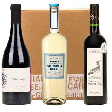 3 Organic Wines Box
