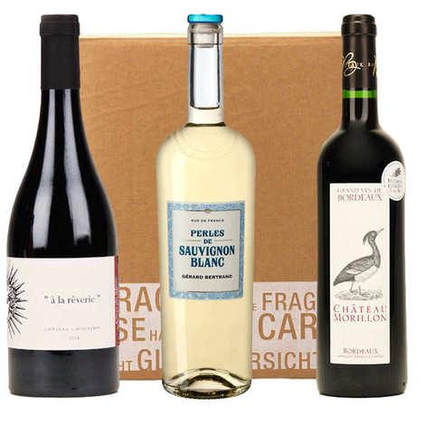 - 3 Organic Wines Box