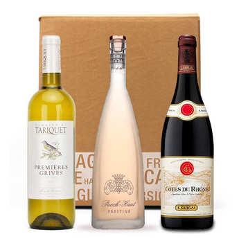 - Box 3 vins incontournables