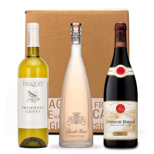 Box 3 vins incontournables