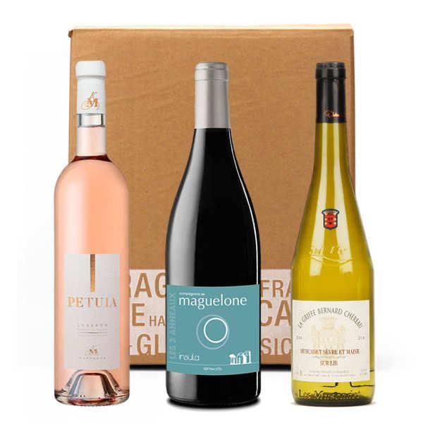 Box 3 vins découverte