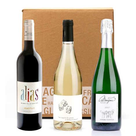 - Box 3 vins natures