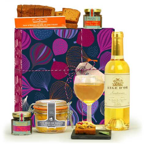 BienManger paniers garnis - Foie Gras Tasting Gift Box