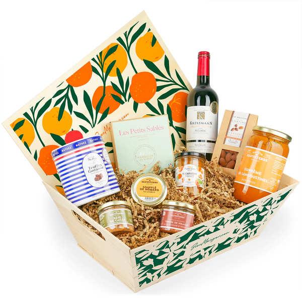 Panier Cadeau Provence : Panier gourmand le sublime bienmanger paniers garnis