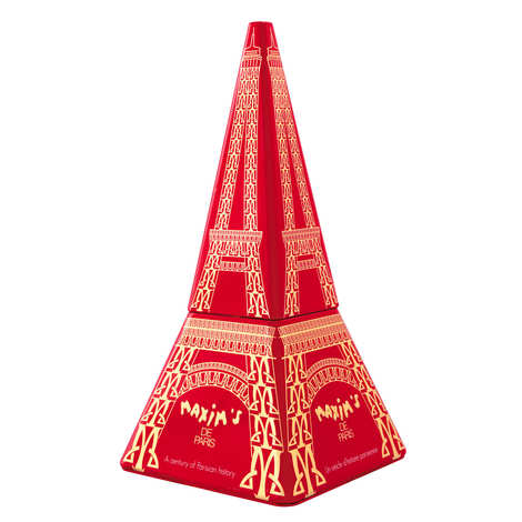 Maxim's de Paris - Eiffel Tower filled with Lace Crepes Coated with Chocolate - Maxim's