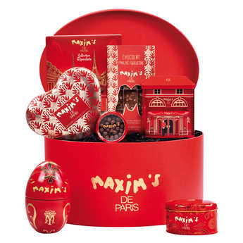 "Maxim's de Paris - ""Rouge Maxim's"" Gift Box"
