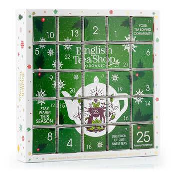 English Tea Shop - Calendrier de l'avent de thés biologiques