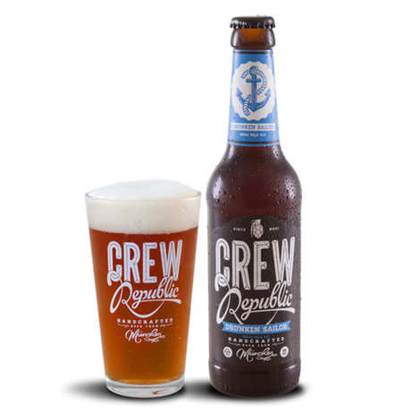 Crew republic - Crew Republic - Drunken Sailor - Bière Allemande 6,4%