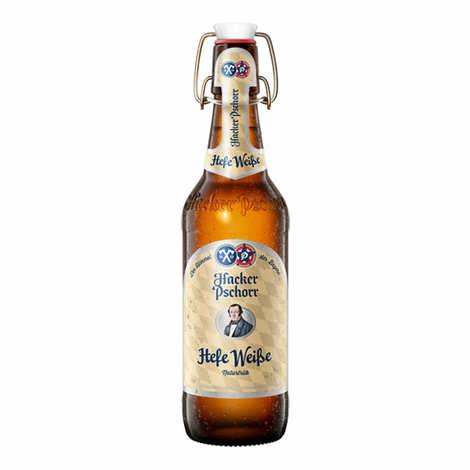 Brasserie Hacker-Pschorr - Hacker Pschorr Weissbier Heffe - Bière Allemande 5,5%