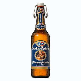 Brasserie Hacker-Pschorr - Hacker Pschorr Naturtrübes Kellerbier - Bière Allemande 5,5%