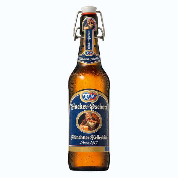 Hacker Pschorr Naturtrübes Kellerbier - Bière Allemande 5,5%