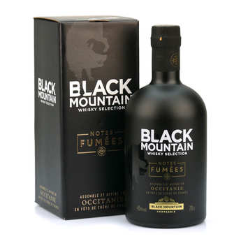 Black Mountain Compagnie - Whisky Black Mountain - BM Notes fumées 45%