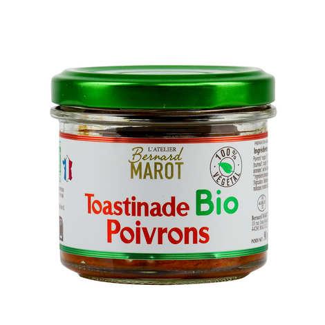 Bernard Marot - Toastinade Bio aux poivrons et graines (100% végétale)