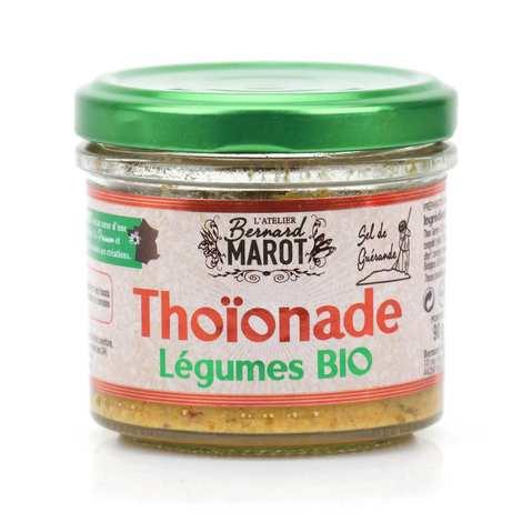 Bernard Marot - Thoïonade aux légumes à tartiner bio