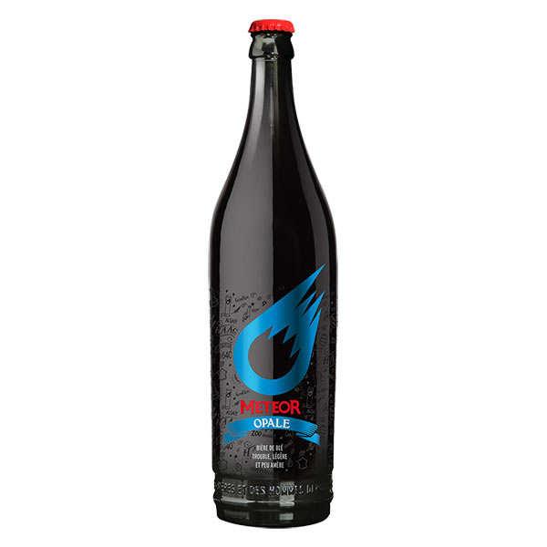 Meteor opale - bière de blé d'alsace 5% - bouteille 75cl