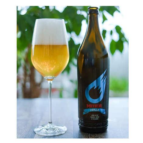 Brasserie Meteor - Meteor Opale - Bière de blé d'Alsace 5%
