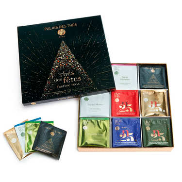 Selection of Festives Teas from by Palais des thés