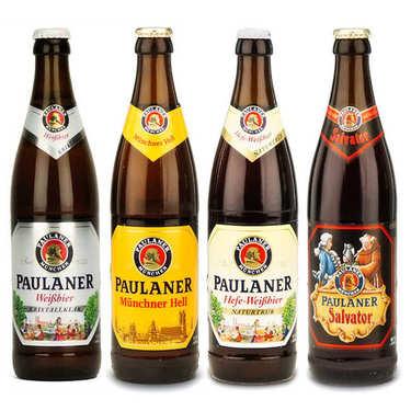 Assortiment découverte des bières allemandes Paulaner
