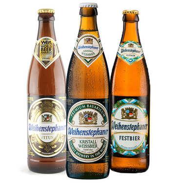 Assortiment de 6 bières Weihenstephaner