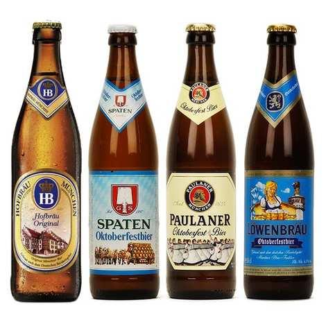 - Offre découverte de 8 bières de l'Oktoberfest
