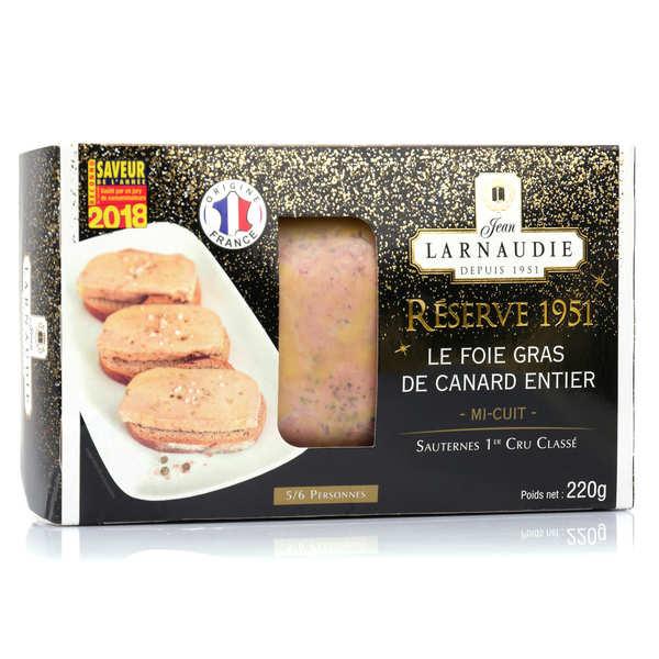 Foie gras de canard entier mi-cuit IGP - Réserve 1951