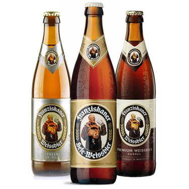 Lot découverte des bières allemandes Franziskaner