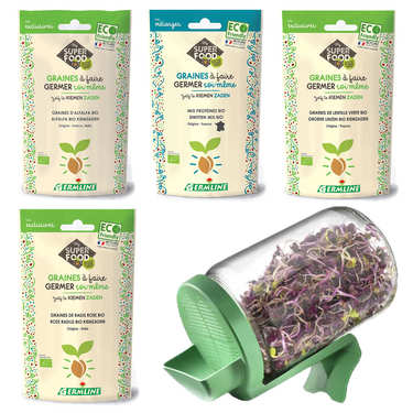 Sprouting Seeds kit for Beginners