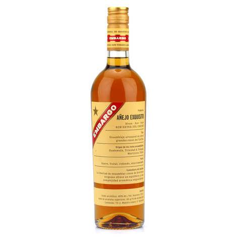 Les Bienheureux - Embargo Anejo Exquisito - Rum from Caribbean 40%