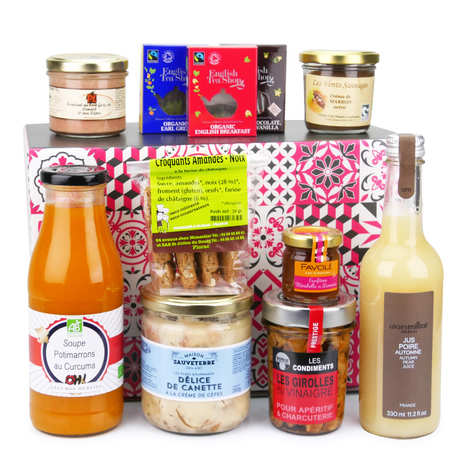- Box découverte spéciale saveurs d'automne (octobre)