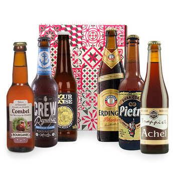 - Box découverte de 6 bières de l'automne (octobre)
