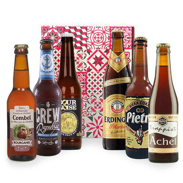 Box découverte de 6 bières de l'automne (octobre)