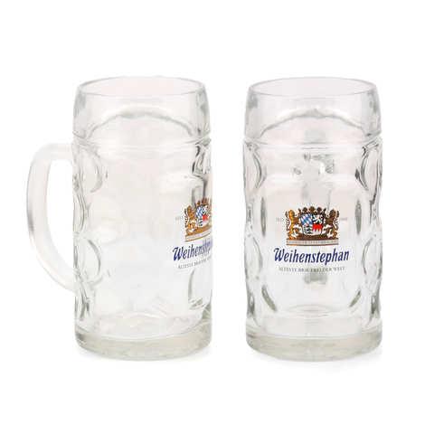 Weihenstephaner - Chope à bière Weihenstephan