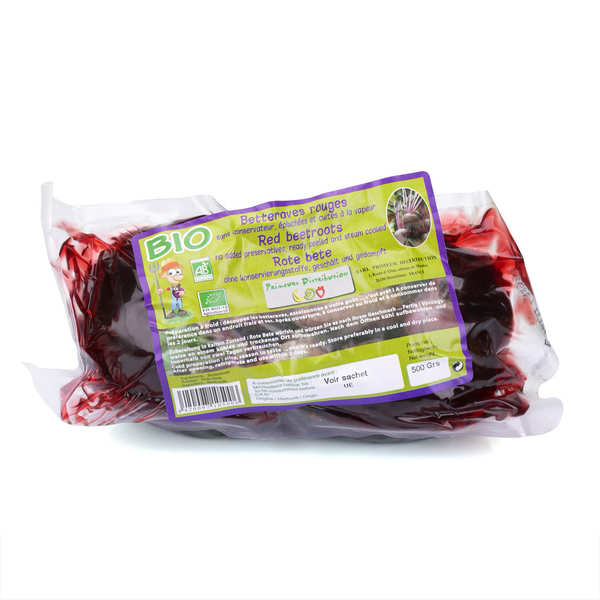 Organic Vacuum Beetroot from france