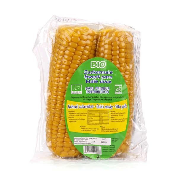 Maïs doux de France sous-vide bio