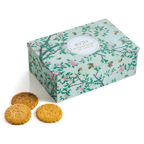 Biscuiterie La Sablésienne - Assortment biscuits in Metal Box