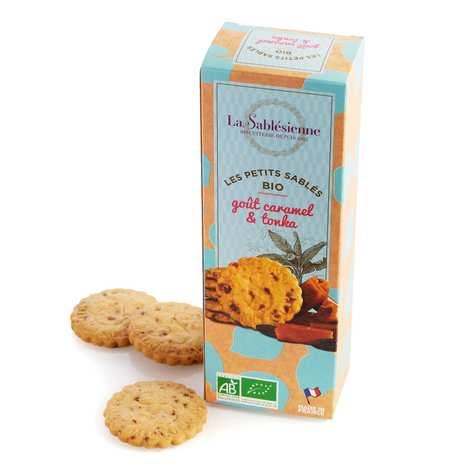 Biscuiterie La Sablésienne - Sablés caramel beurre salé et fève tonka bio