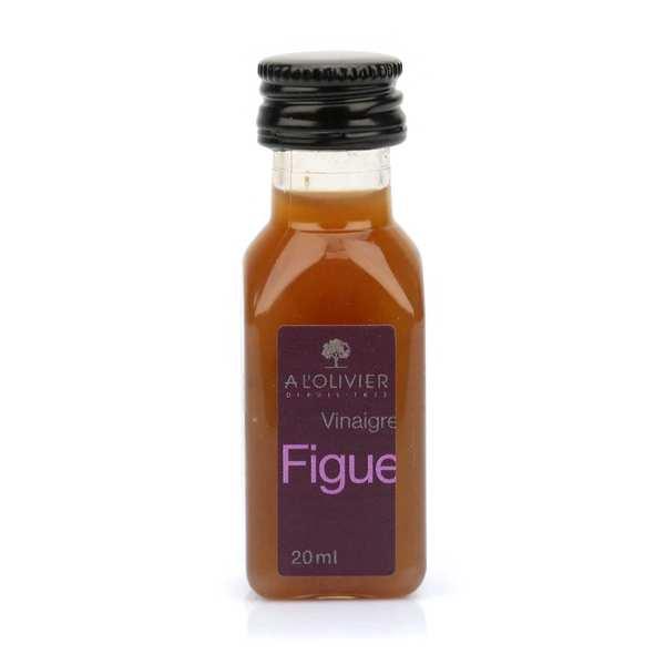 Mignonnette de vinaigre à la pulpe de figue fraîche