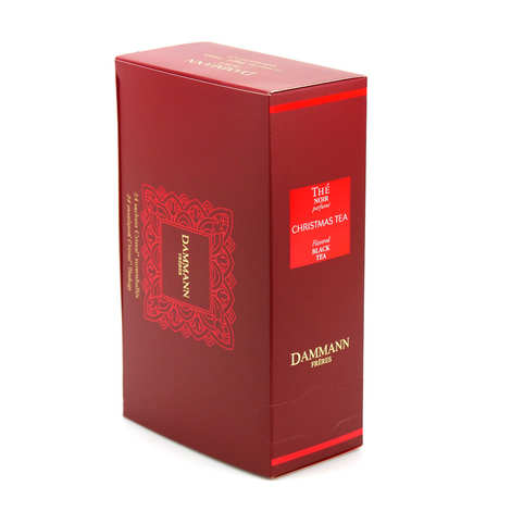 Dammann frères - Overwrapped Damman Christmas tea bags - Dammann Frères