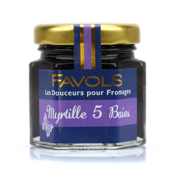 Favols - Blueberry Jam for Cheese