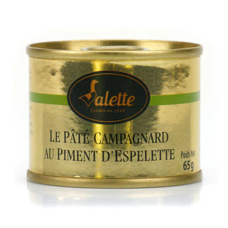Valette - Pâté campagnard au piment d'Espelette