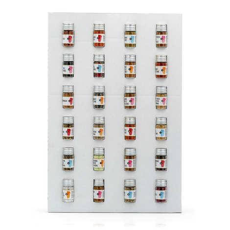Le Comptoir Colonial - Spices Advent Calendar (24 vials)