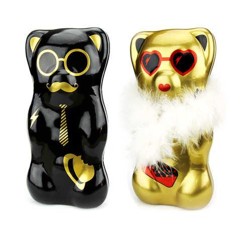 "Sophie M - Marshmallow Bears - Metal Box ""Oscar et Simone"""