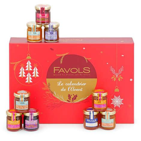 Favols - Jam Advent Calendar